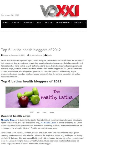 Latina blog